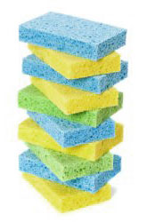 Cellular (sponge rubber), however, is a little more complicated than solid rubber in that it comes in several different forms.
